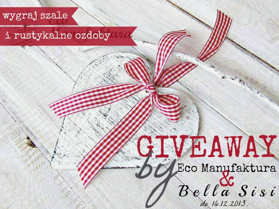candy świąteczne giveaway by Eco Manufaktura i Bella Sisi