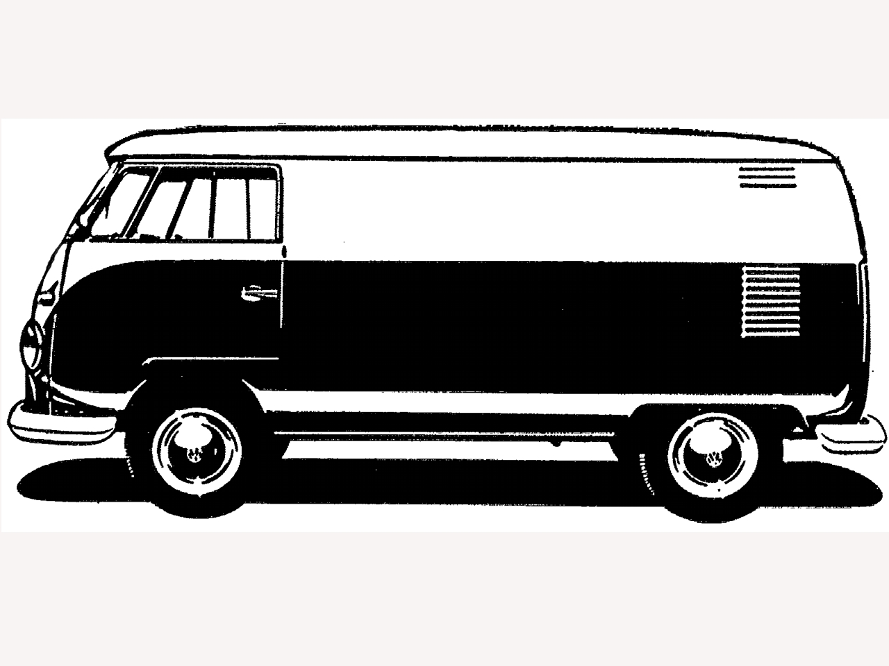 VW BUS PANEL