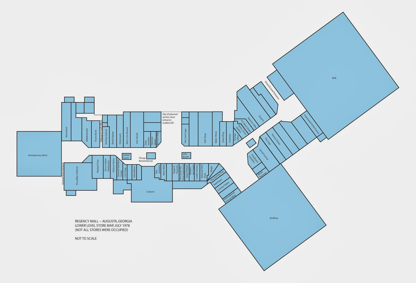 Sky City Southern And MidAtlantic Retail History