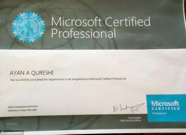 Ayan Qureshi Anak SD Ahlinya Microsoft 2