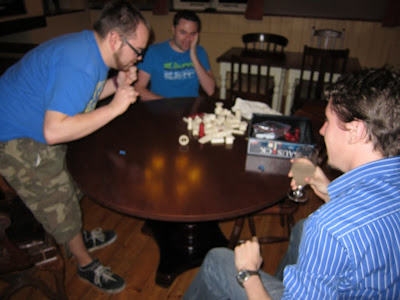 The guys playing Bausack - Not a good photo - Sorry