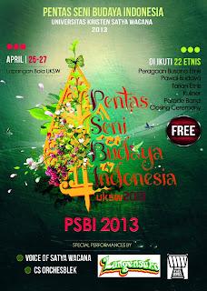 Pentas Seni Budaya Indonesia (PSBI) 2013 - UKSW