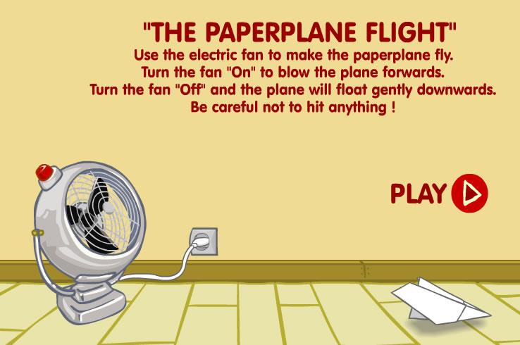 Kids Game : Paper Plane Flight