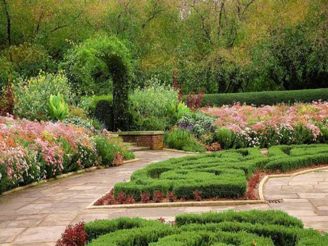 Basic backyard landscape design - Garden design basics ...
