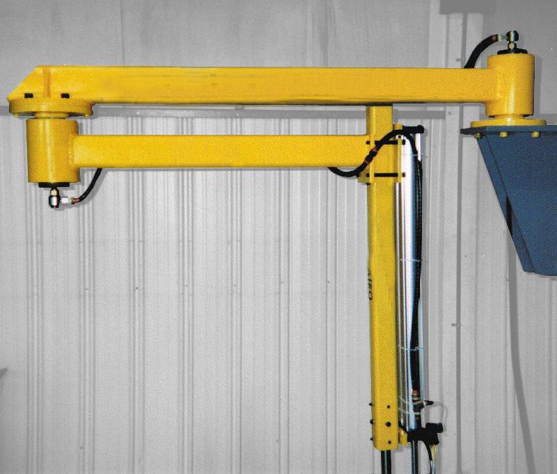 Used Jib Crane Hoist : Brief review articulating jib cranes crane reviews