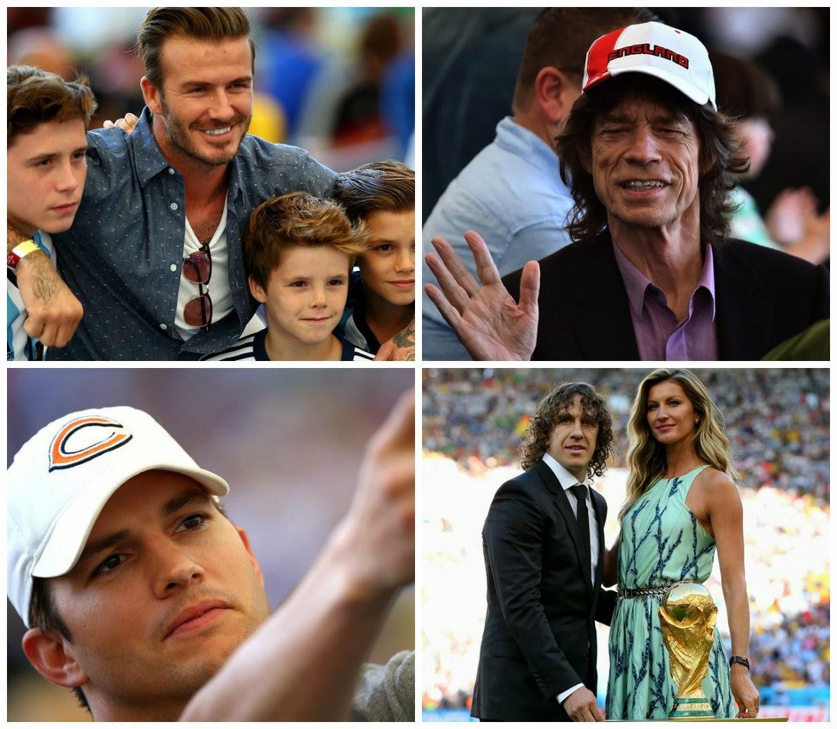 3e7e154a63d24 Celebridades marcaram presença no Maracanã