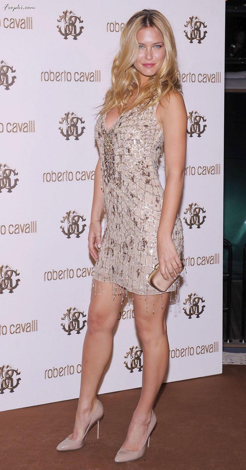 Model Bar Refaeli attends the private dinner on Cavalli