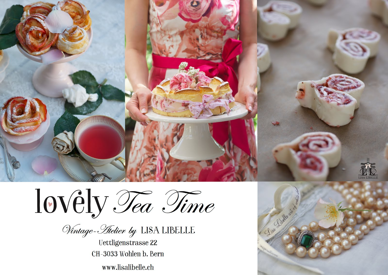 lovely-Tea Time im Vintage-Atelier by LL