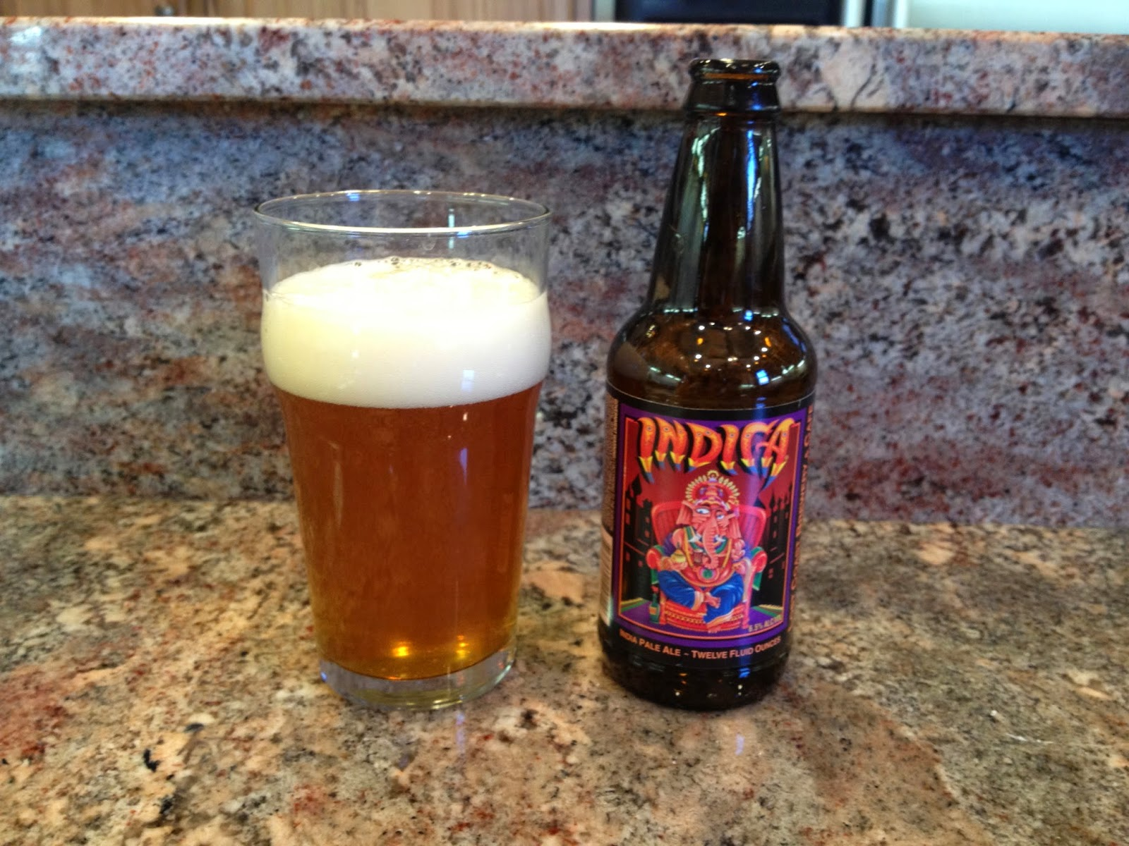 Indica, Lost Coast Brewery