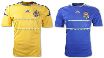 Jersey Ukraina di Piala Eropa 2012