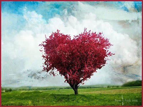 Rose Heart Tree