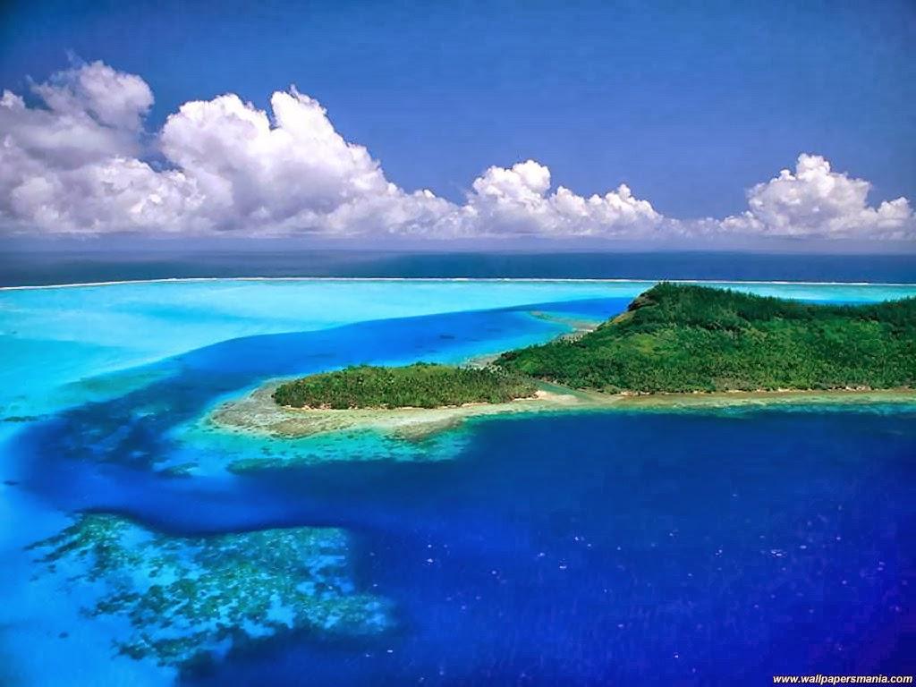 Gambar Wallpaper Laptop Pemandangan Pantai Foto Dan Gambar