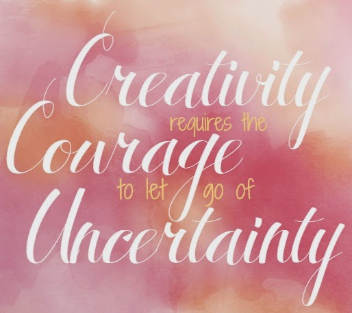 Creativity requires the Courage to let go of Undertainty. By Erich Fromm