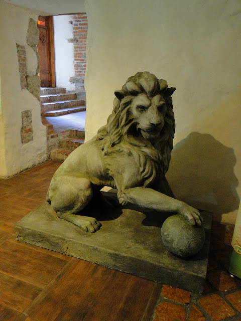 Lion is the symbol of Lviv, Beer Museum