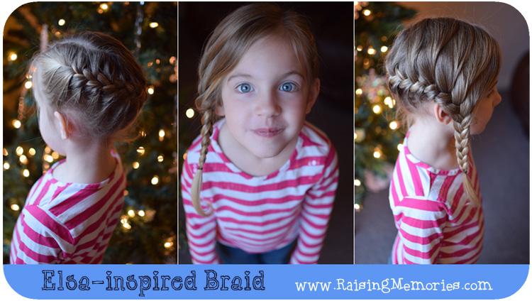 How to do an Elsa braid