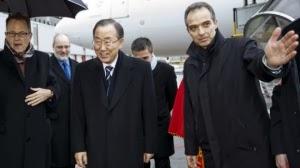 Iran Tuduh Ban Ki Moon Tak Punya Nyali Hadapi AS dan Oposisi Suriah