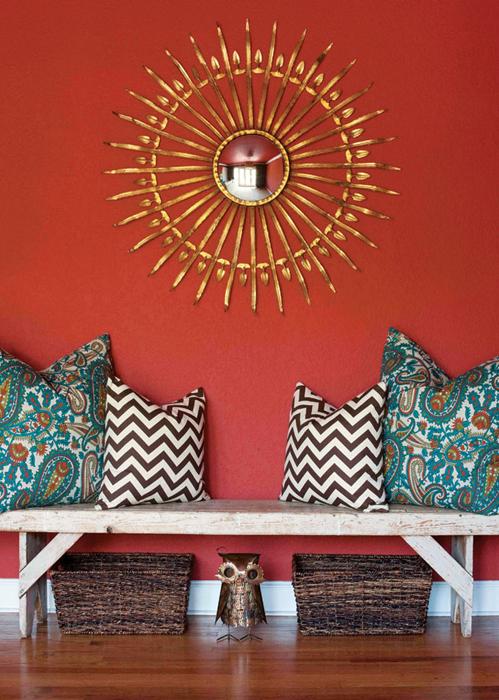 Pintura y madera el color del mes junio teja - Que pintura utilizar para madera ...