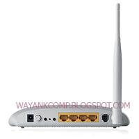 Wireless N 150Mbps Modem Router TP LINK TD-W8951ND + 4 port LAN