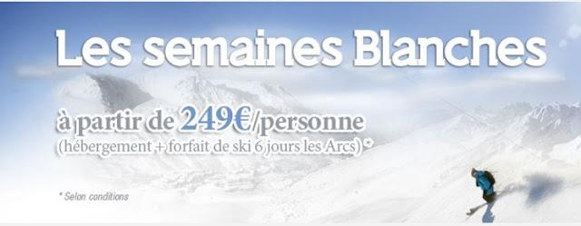 Les Arcs: promotions du 5 au 19 janvier 2013