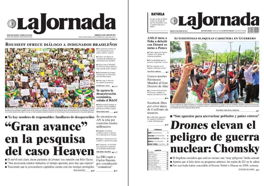 Noticias Guerrer S Sme Peri Dico La Jornada 22 Junio 2013