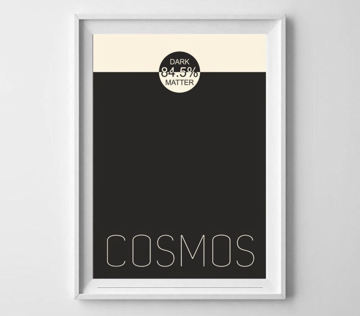 science art minimal poster