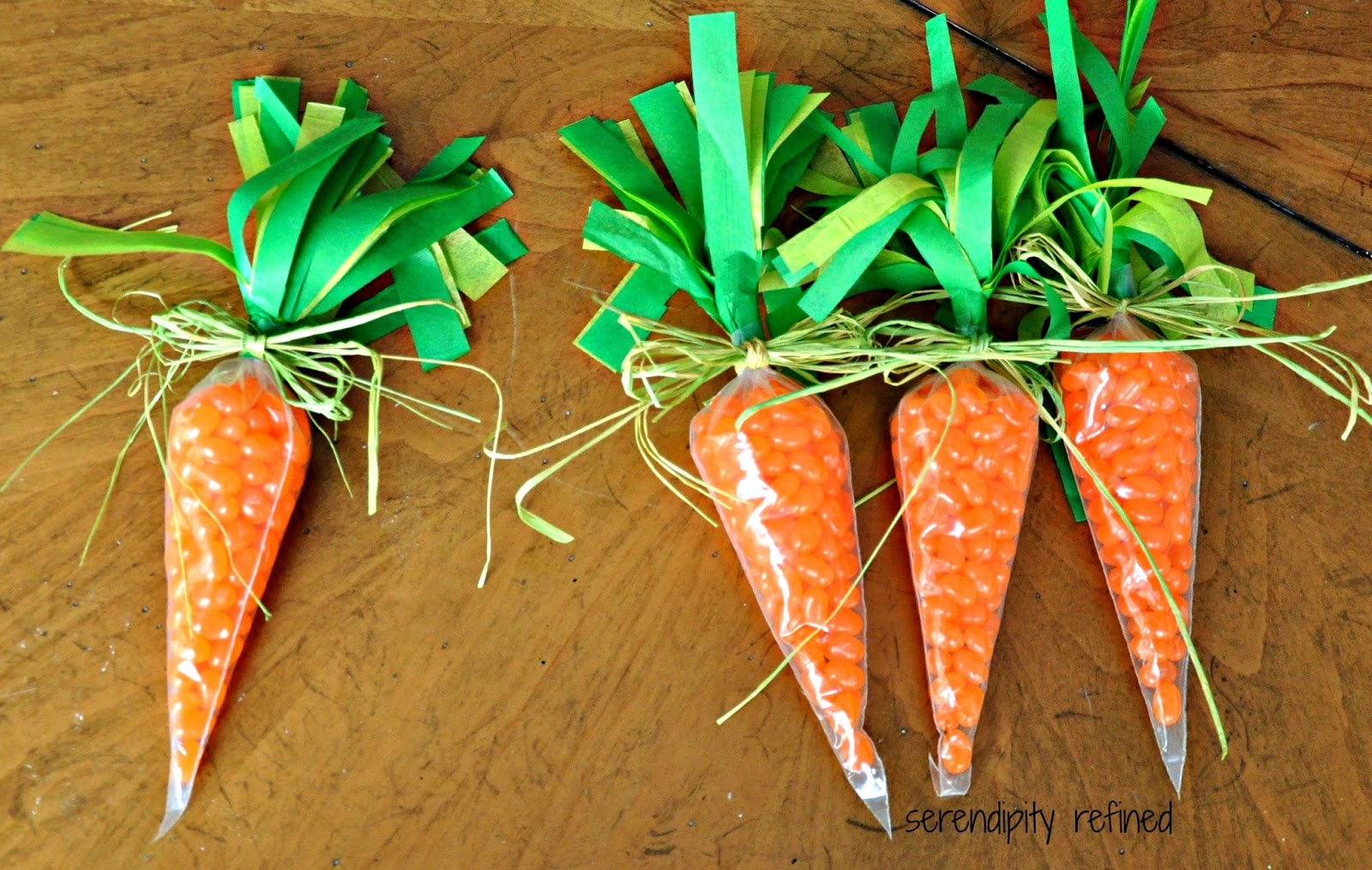 Serendipity refined blog spring carrot easter candy holder easy craft ill negle Choice Image