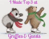 I made Top 3 at Gruffies & Guests