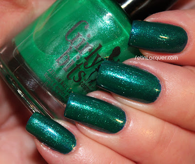 Girly Bits Emerald City Lights over Zoya Song