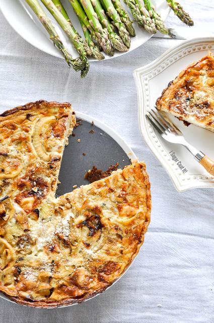 Onion Gorgonzola Tart