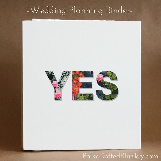 Wedding Planning Binder Organization