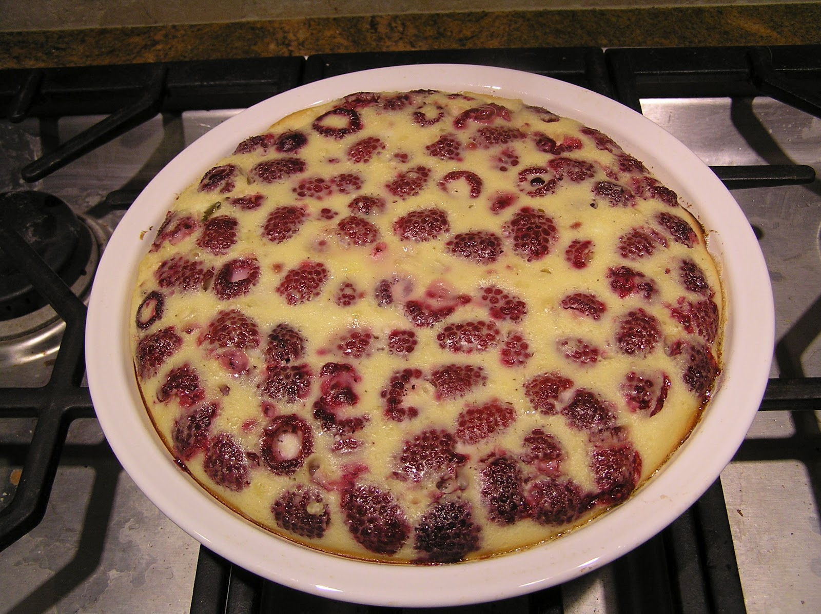 Oh! You Cook!: Raspberry Custard Pie