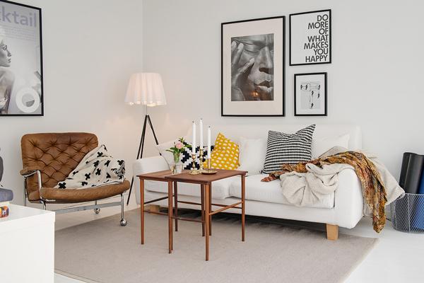 Rocco en mi sofa inspiraci n piso n rdico con toques - Piso estilo nordico ...