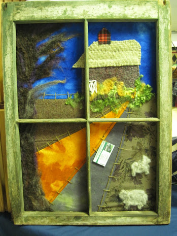 A closer look at some Breezy Manor Farm art.