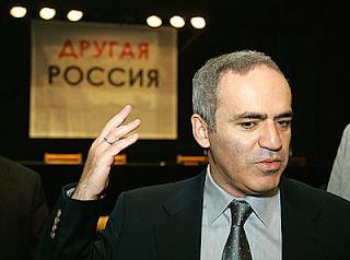 Garry Kasparov, 50 ans, a été l'un des fondateurs des mouvements d'opposition L'Autre Russie