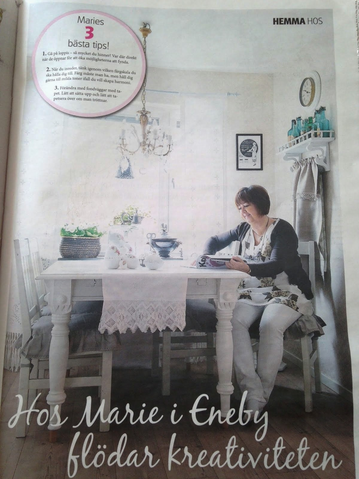 Reportage i NM Bostad Mars 2014