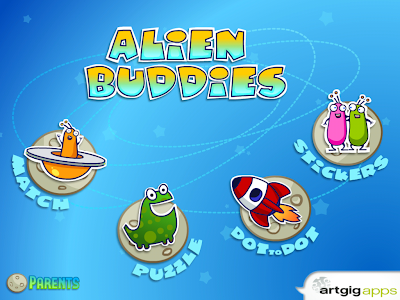 Alien Buddies iPhone / iPad App Review