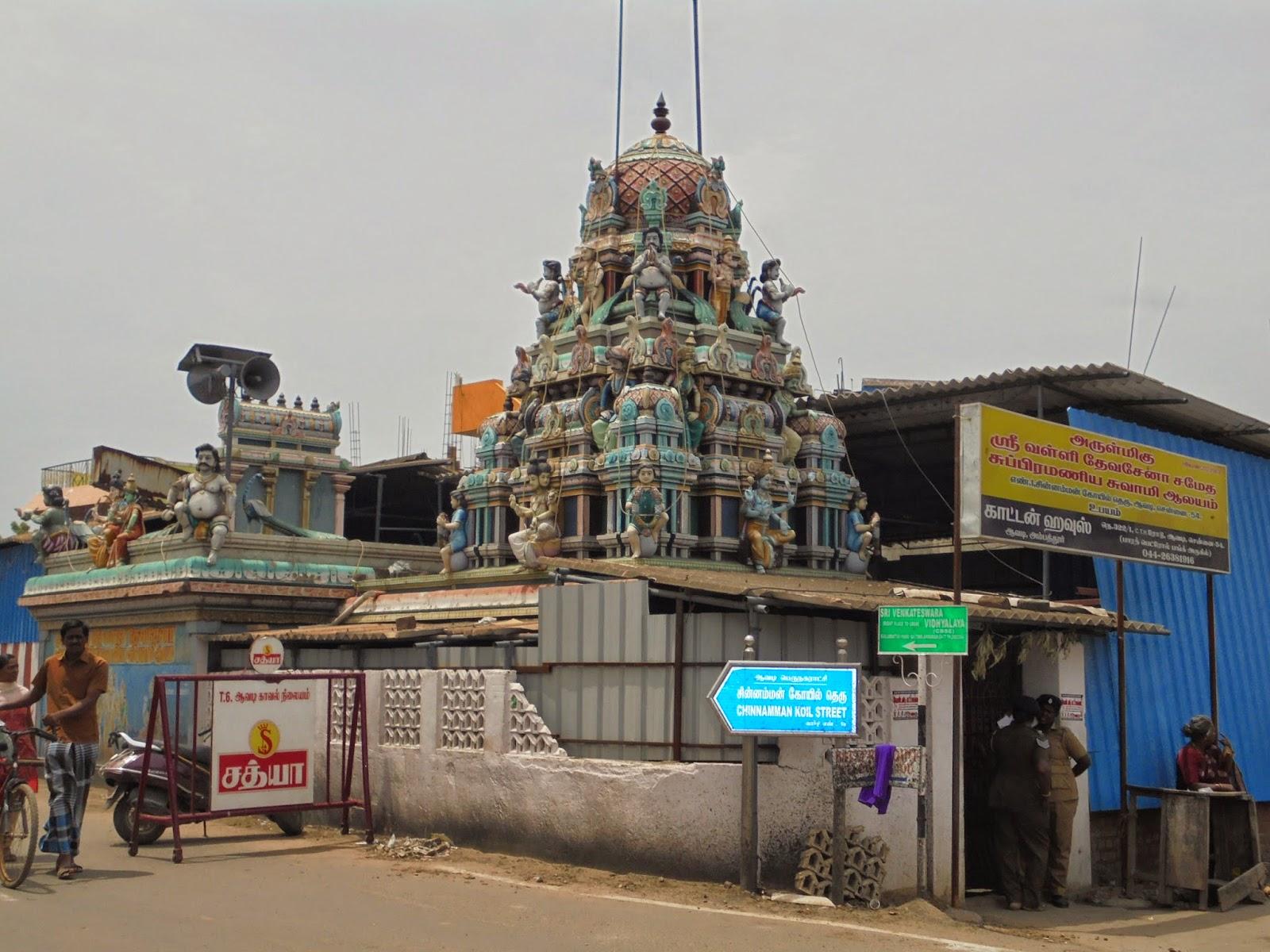 Visual guide from avadi temples in avadi arulmigu valli devasena sameda subramaniswamy aalayam avadi aiddatafo Choice Image