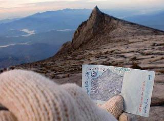 duit kertas malaysia,gunung kinabalu,gambar wang kertas malaysia gunung kinabalu