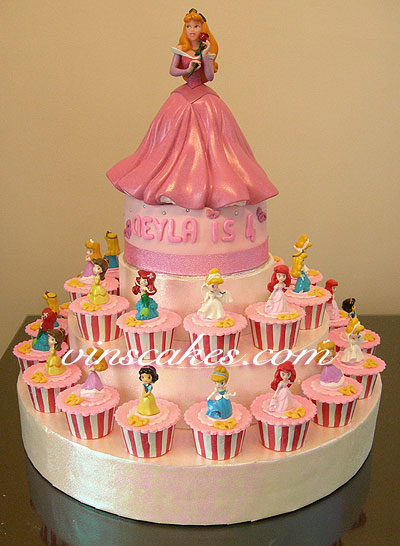 Pin Princess Aurora Birthday Cake — Childrens Cakes Cake on ...