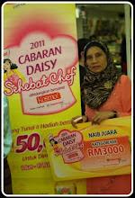Naib Juara Cabaran Daisy Sehebat Chef - Shah Alam Central - Julai 17, 2011