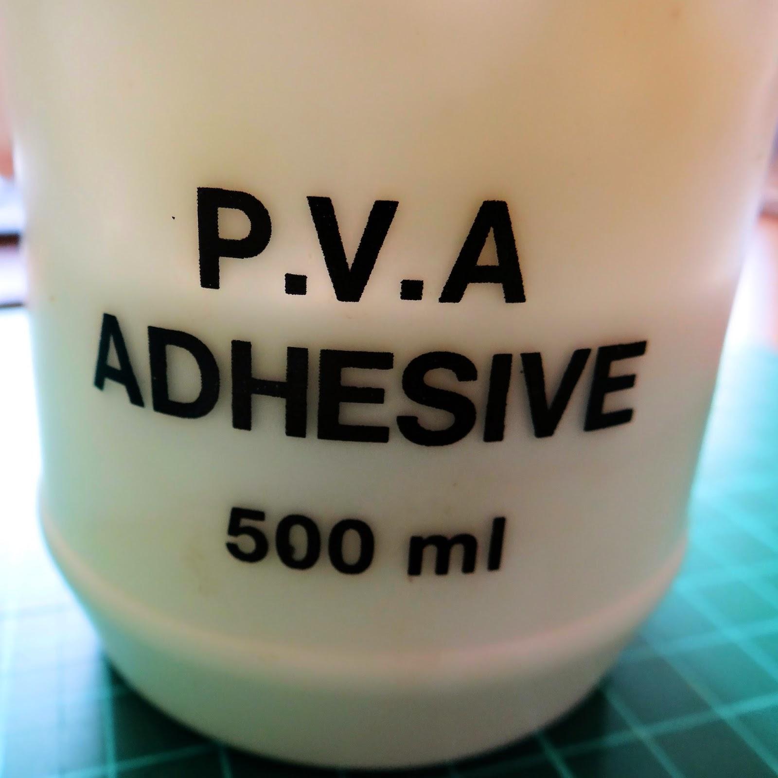 how to make pva glue thicker