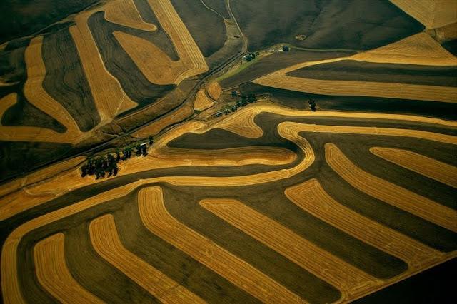 Аэросъемка Yann Arthus Bertrand