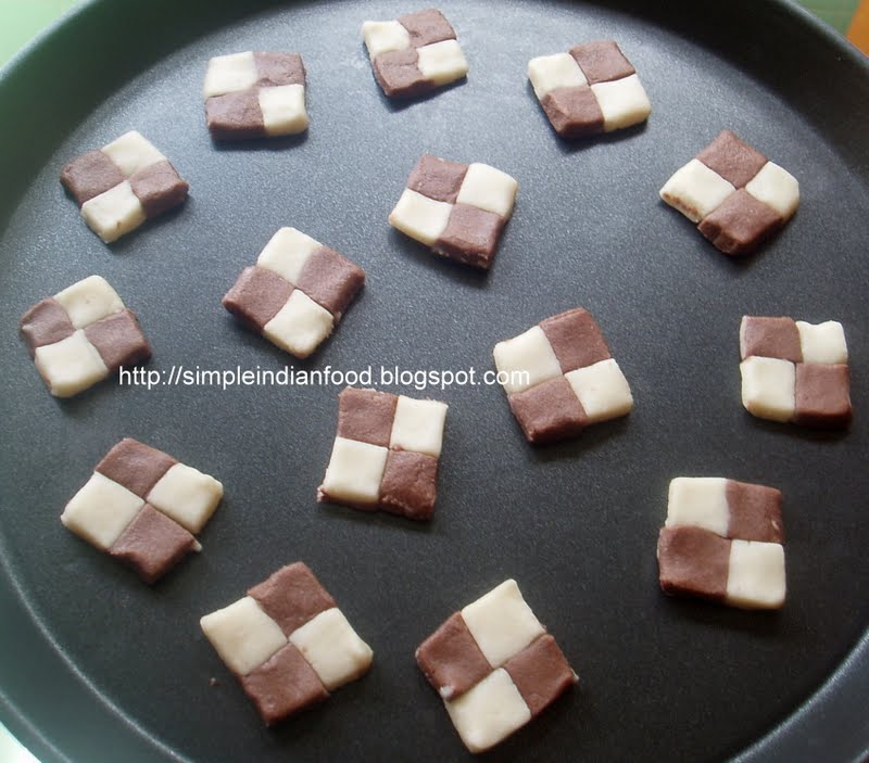 Simple Indian Food- An Easy Cooking Blog: Checkers biscuit