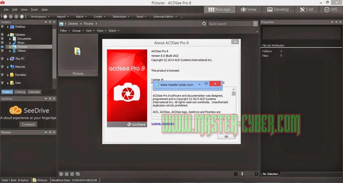 ACDSee Pro 8 Terbaru Full Version with Keygen and serial key number registration