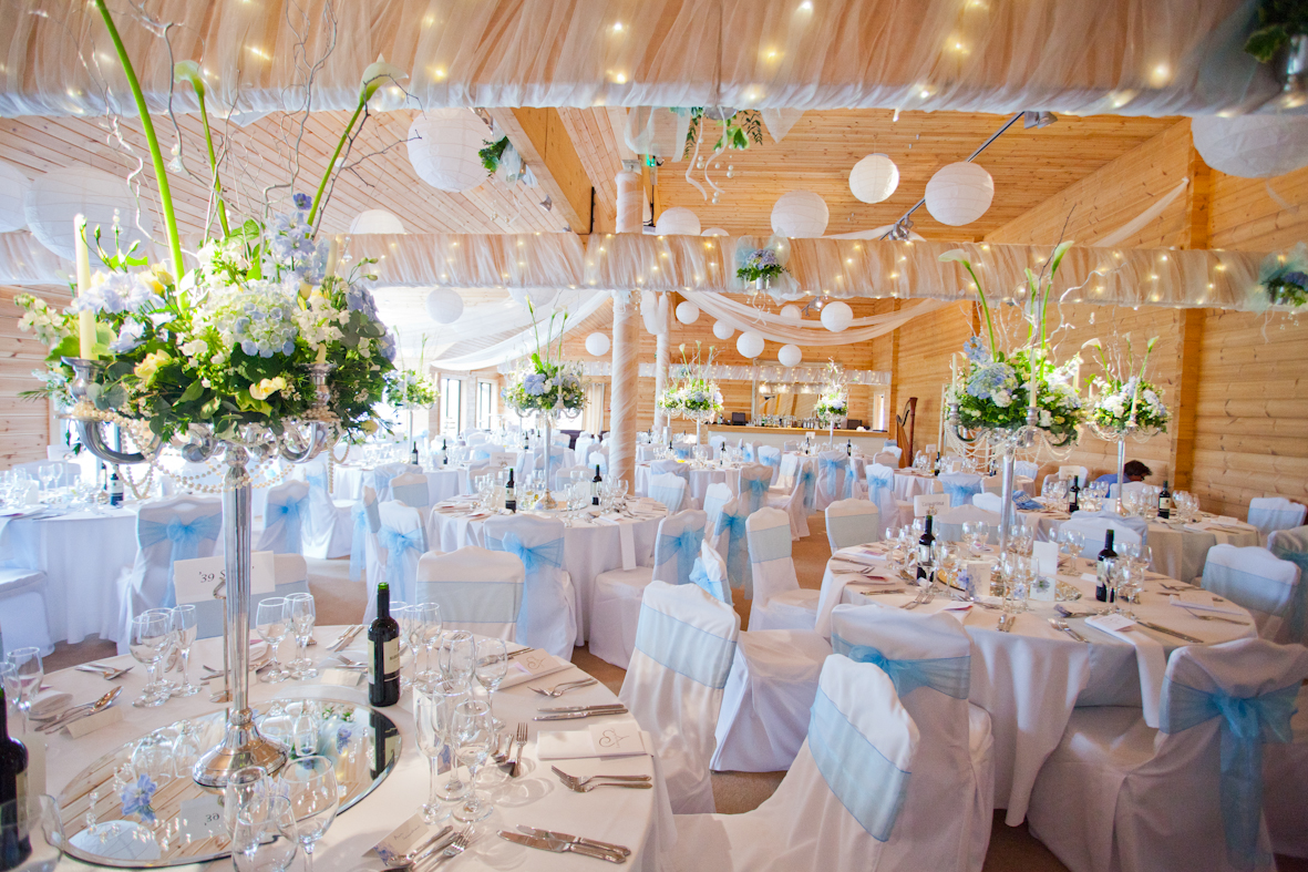 This Was All Created By Emma From Special Days She Also Provided The Chair  Covers And Pale Blue Sash.