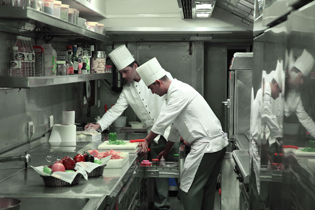 Cuisine on board Maharajas' Express