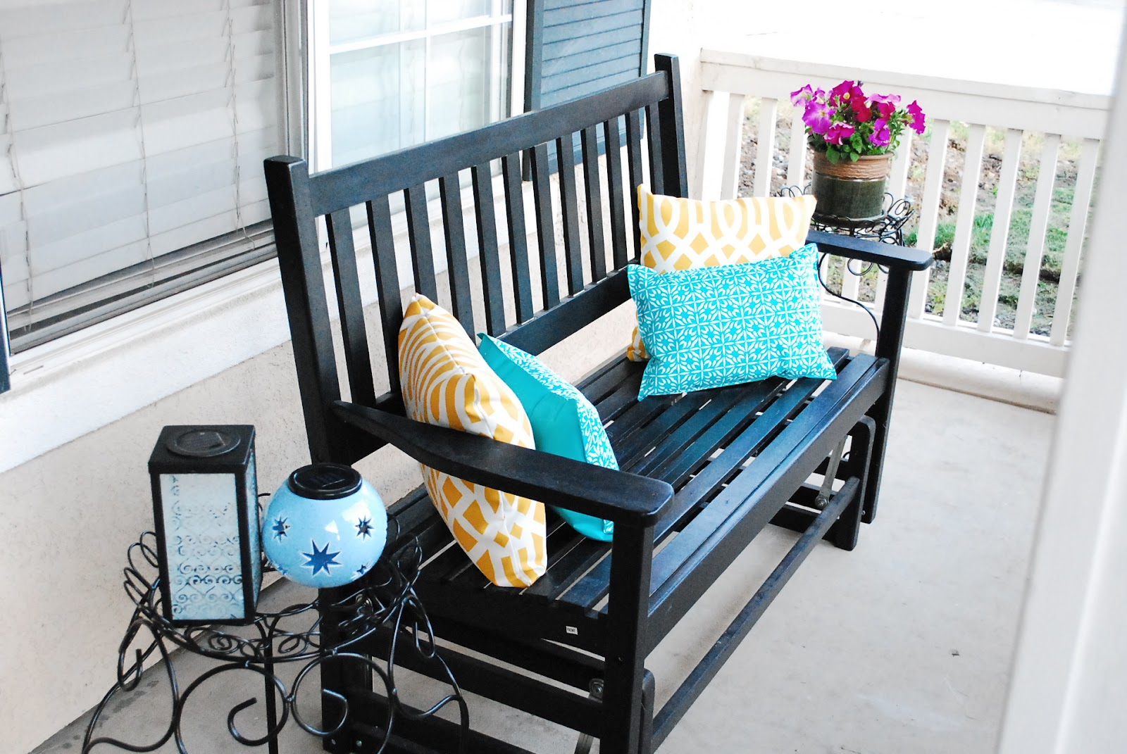 Patio makeover on a budget for Deck makeover on a budget