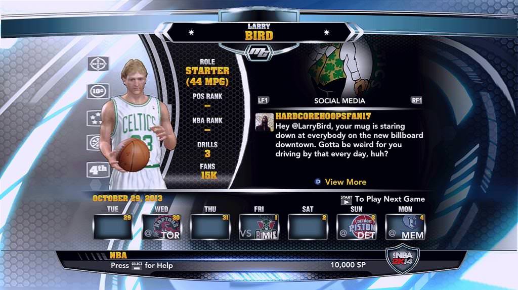 nba 2k14 Larry Bird legends mycareer patch download hoopsvilla