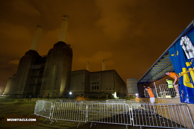 Battersea Power Station at Survival at night