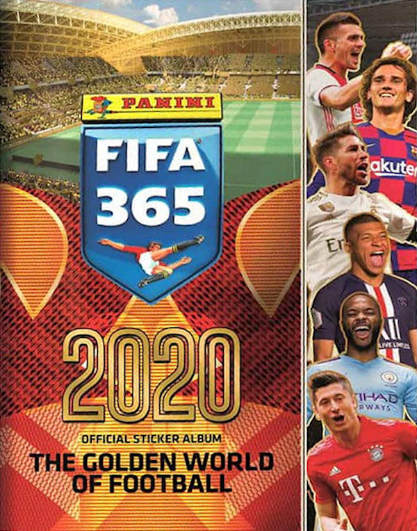 Panini FIFA365 2019 Real Madrid CF Karim Benzema Sticker 111 a//b